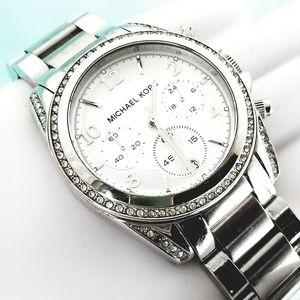Michael Kors Blair MK5165 Womens Chronograph Silve